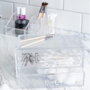 2-PIECE COSMETIC ORGANIZER