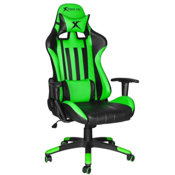 SILLA GAMING LEATHER GREEN
